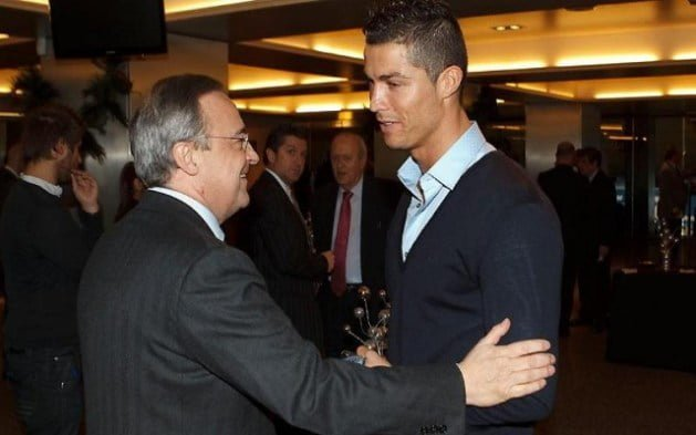 Photo of Cristiano Ronaldo, Real Madrid Başkanından Golcü İstedi