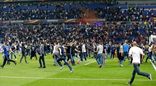 Lyon - Beşiktaş Maçı Olayları