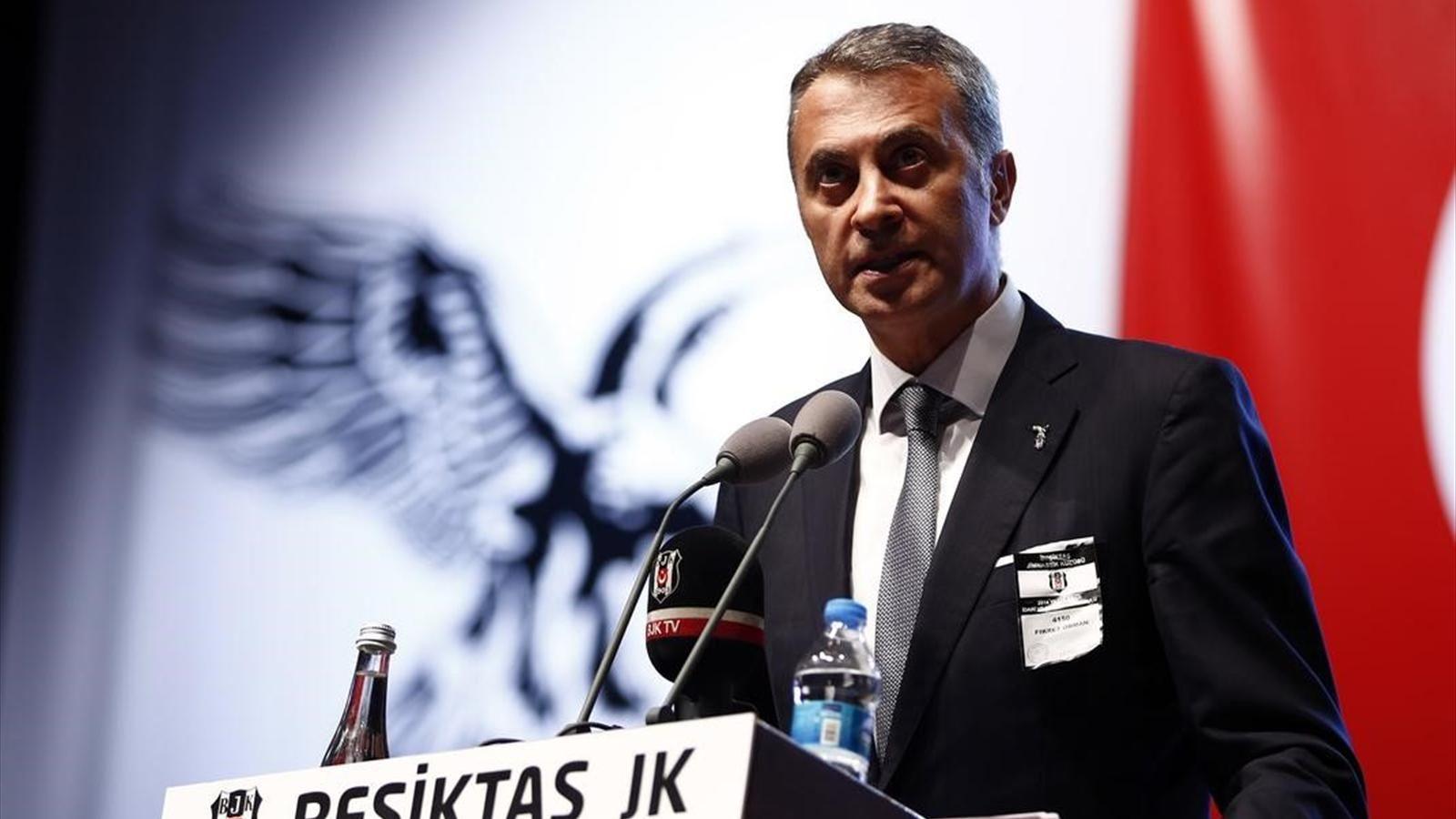 Photo of Beşiktaş Başkanı Fikret Orman Çapıcı Açıklama Geldi