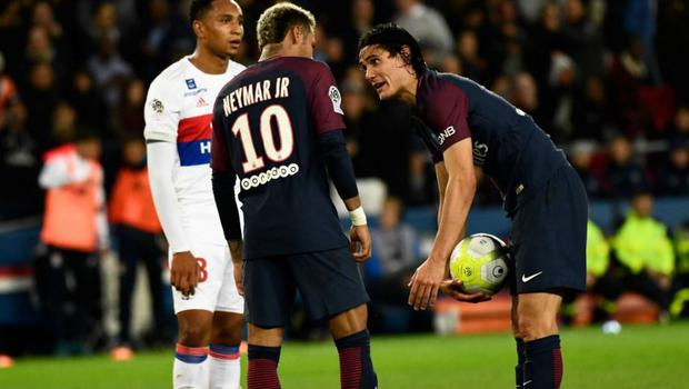 Neymar Cavani PSG