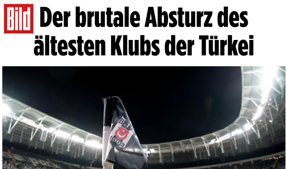 Photo of Bild gazetesi iç karartan haberlere devam ediyor: Beşiktaş iflasla karşı karşıya