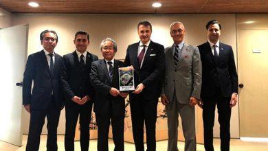 Photo of Fikret Orman Japonya'da Mainichi-Sponichi Grubu ziyaret etti