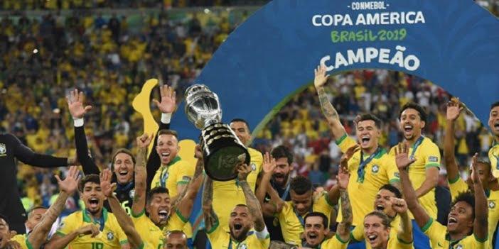 Copa America'nın Sahibi Brezilya Oldu.