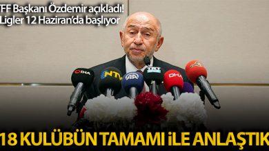"""Photo of Maskeli toplantıda Nihat Özdemir """"Ligler başlayacak"""" dedi"""