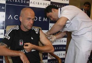 Photo of Beşiktaşlı futbolcular, grip aşısı oldu!..