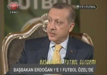 """Photo of Başbakan Erdoğan TRT'de konuştu! """"Spor sahaları yetersiz!"""" (Video)"""