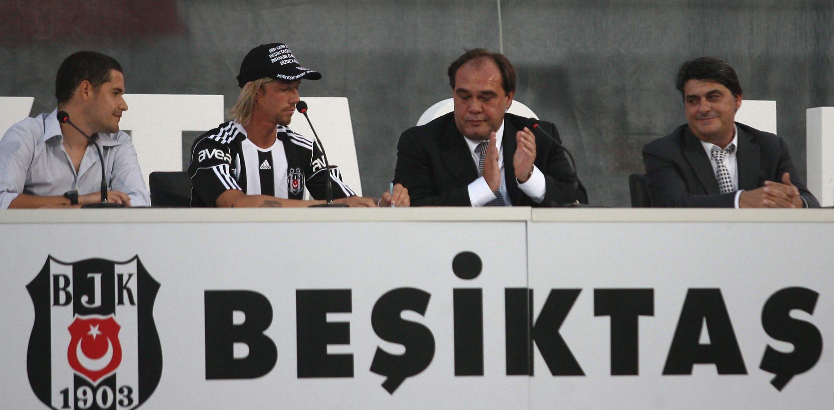Photo of İspanyol yıldız Guti binlerce Beşiktaşlı'nın önünde imzayı attı