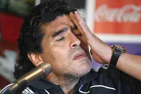 Photo of Maradona sorgu odasında! Büyük ceza gelebilir