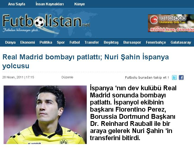 Photo of Video / Futbolistan ne diyorsa o! Nuri Şahin Real Madrid 'e imzayı attı