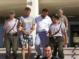 Cinayetten bir kaç gün sonra Bodrum'da yakalanma olmuştu !